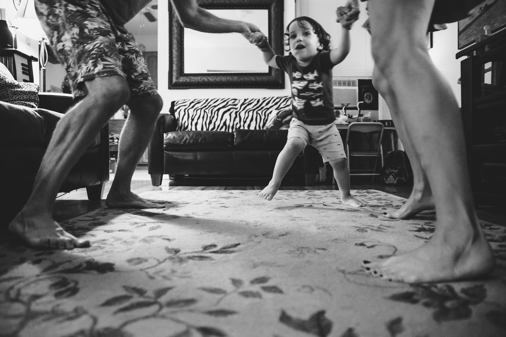 Francesca Russell Photography | Astoria, Queens Family Photographer | Dance Party