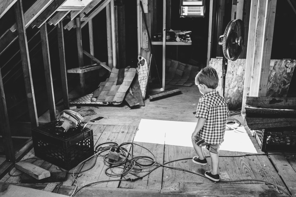 Francesca Russell Photography | Long Island Family Photographer | Logan exploring the house