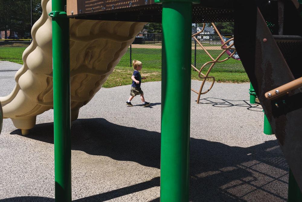 Francesca Russell Photography | Long Island Family Photographer | Little boy on the go