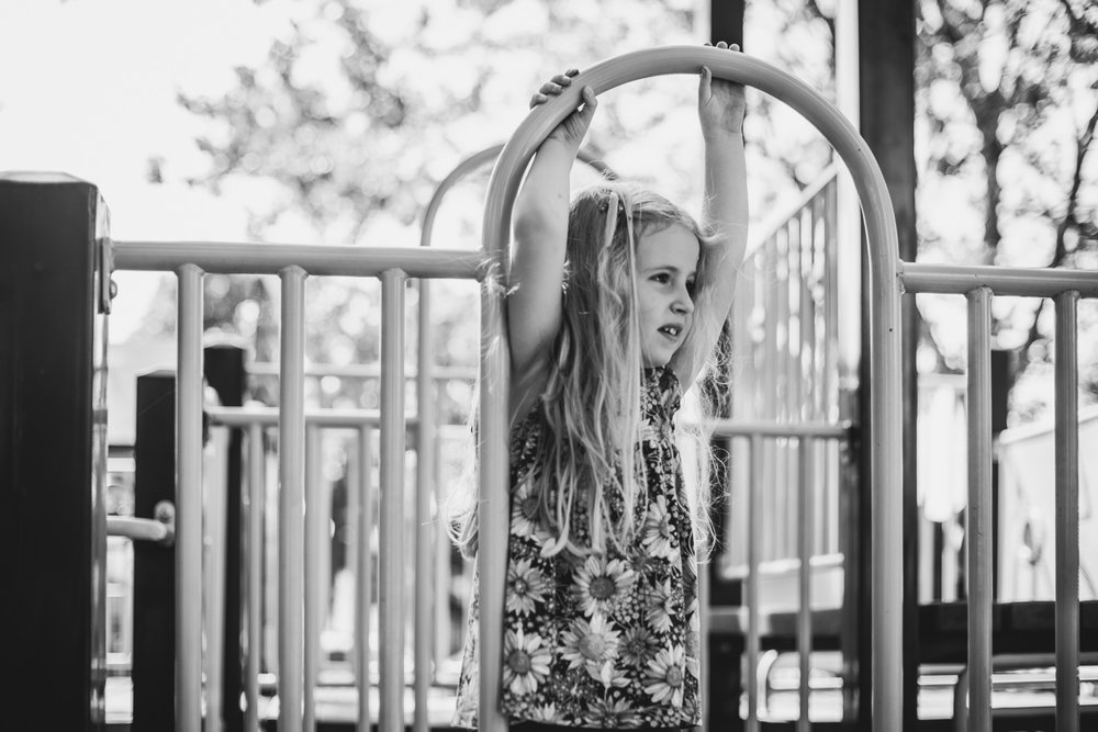 Francesca Russell Photography | Long Island Family Photographer | Girl on the playground