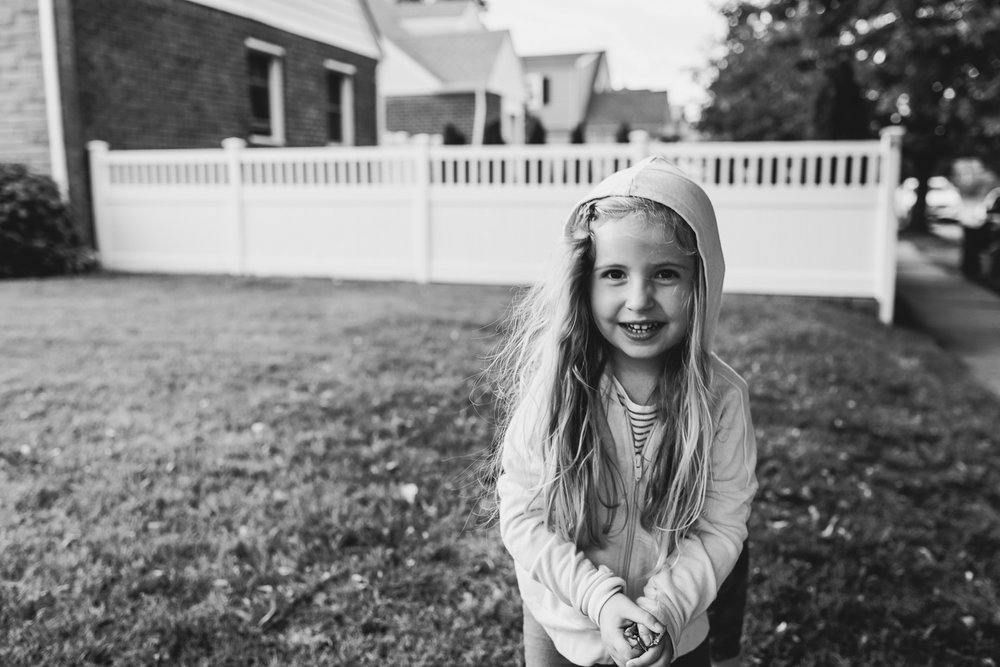 Francesca Russell Photography | Garden City, NY Family Photographer | Lila on the grass