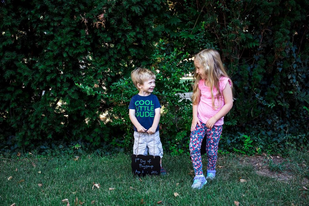 Francesca Russell Photography | Long Island Documentary Family Photographer | First day of school