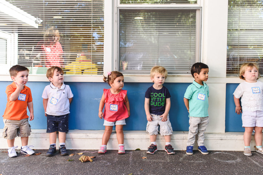 Francesca Russell Photography | Long Island Documentary Family Photographer | Lining up