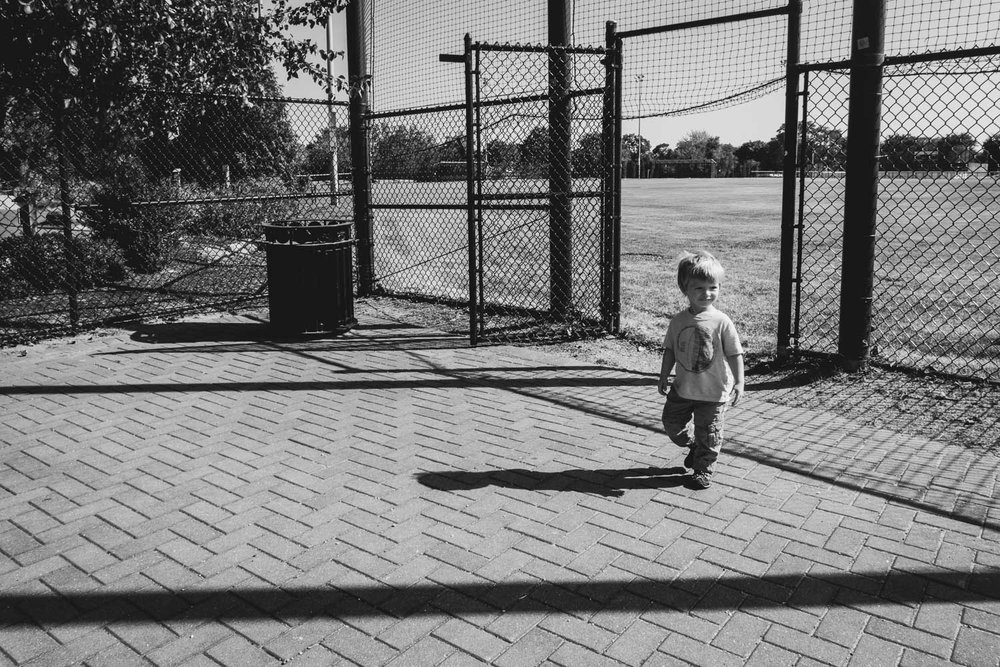Francesca Russell Photography | Long Island Documentary Family Photographer | Logan at the baseball fields