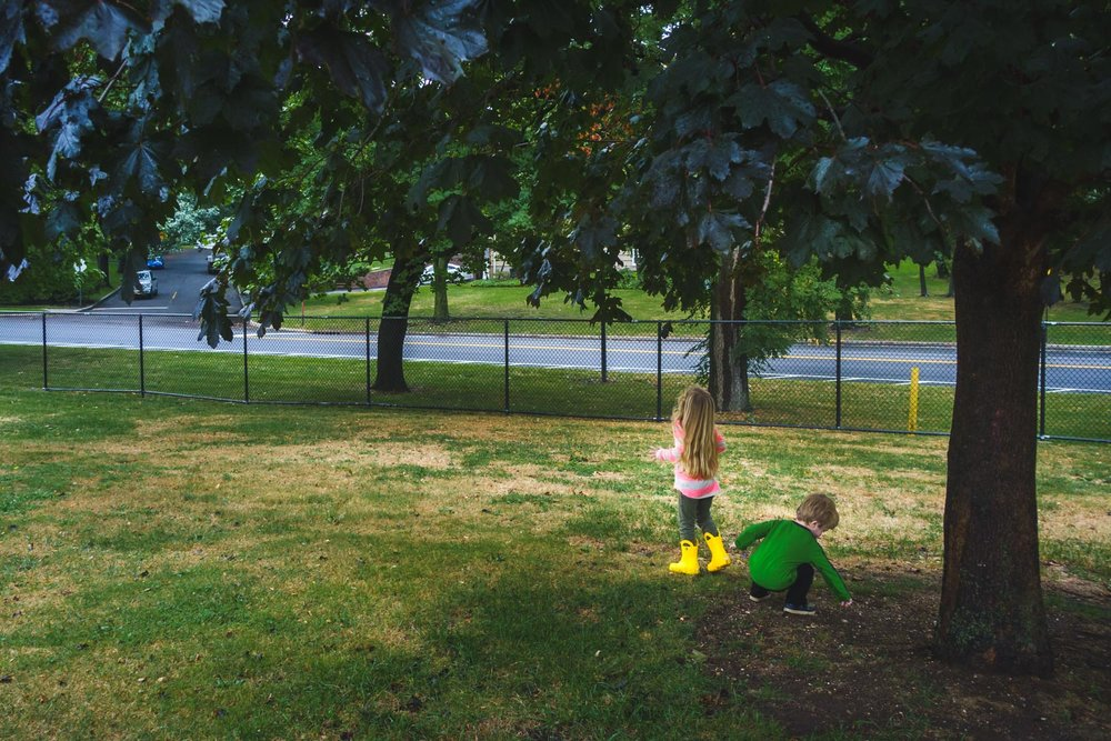 Francesca Russell Photography | New York City Family Photographer | Kids playing on grass
