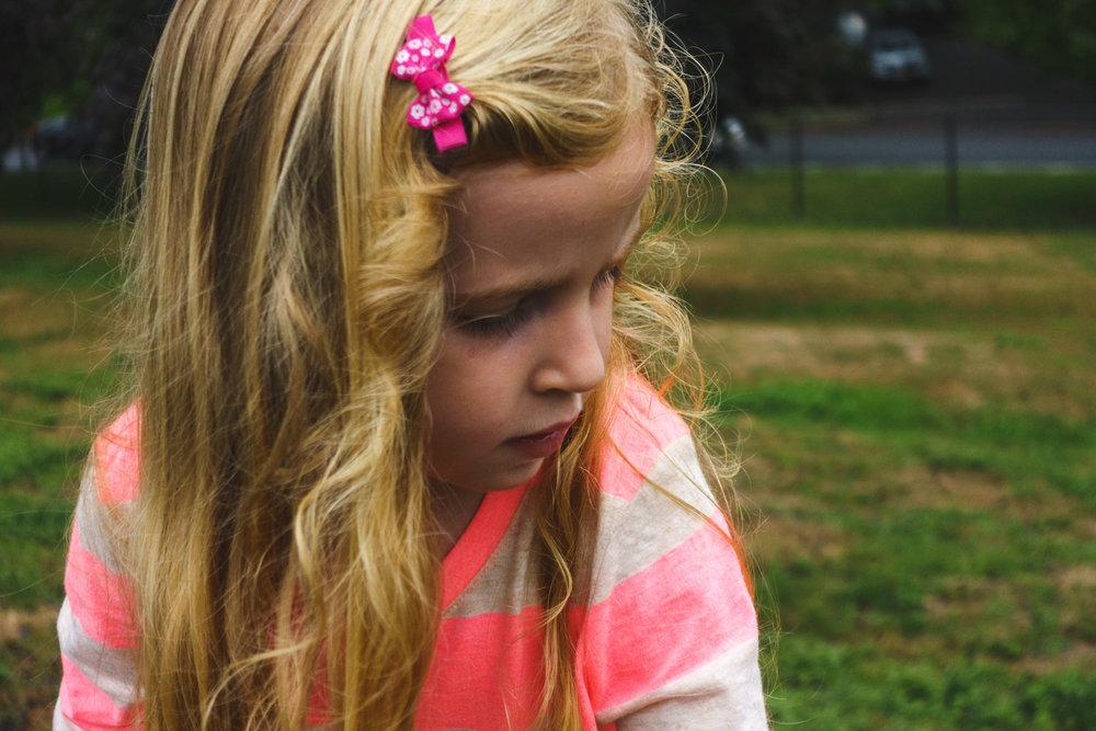 Portrait of Lila.
