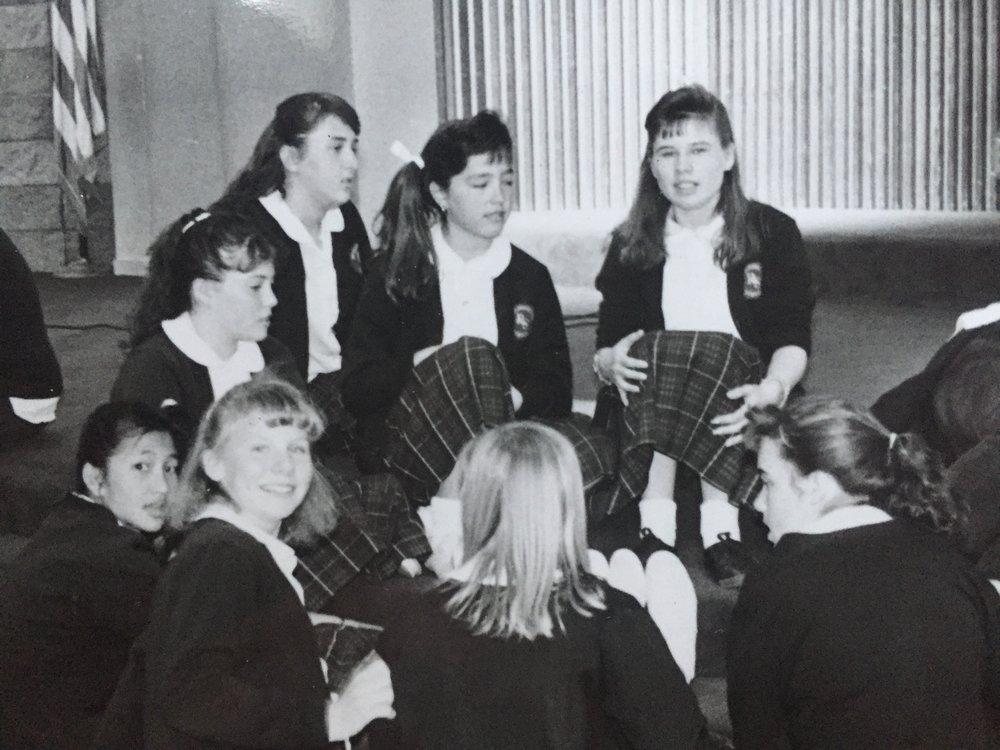 8th grade - California, 1988.