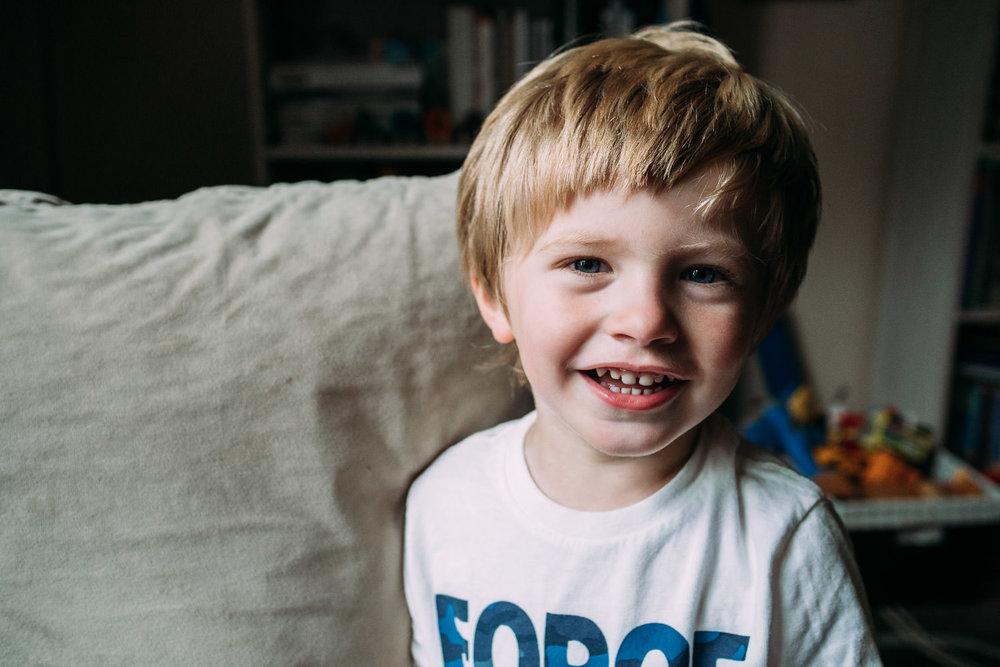 Logan - Age 3, Week 8