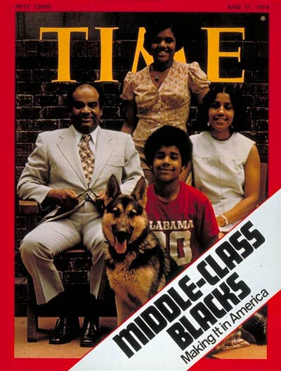 Time magazine cover, June 1974.