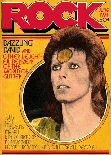 Rock magazine cover, June 1974