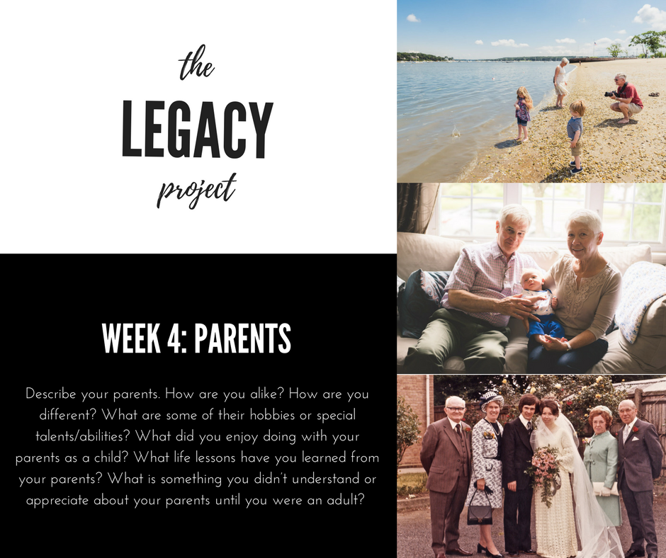 The Legacy Project - Week 4.