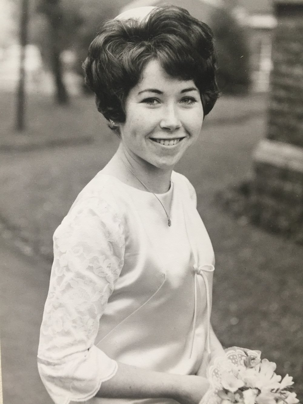 A young woman in the 1960's.