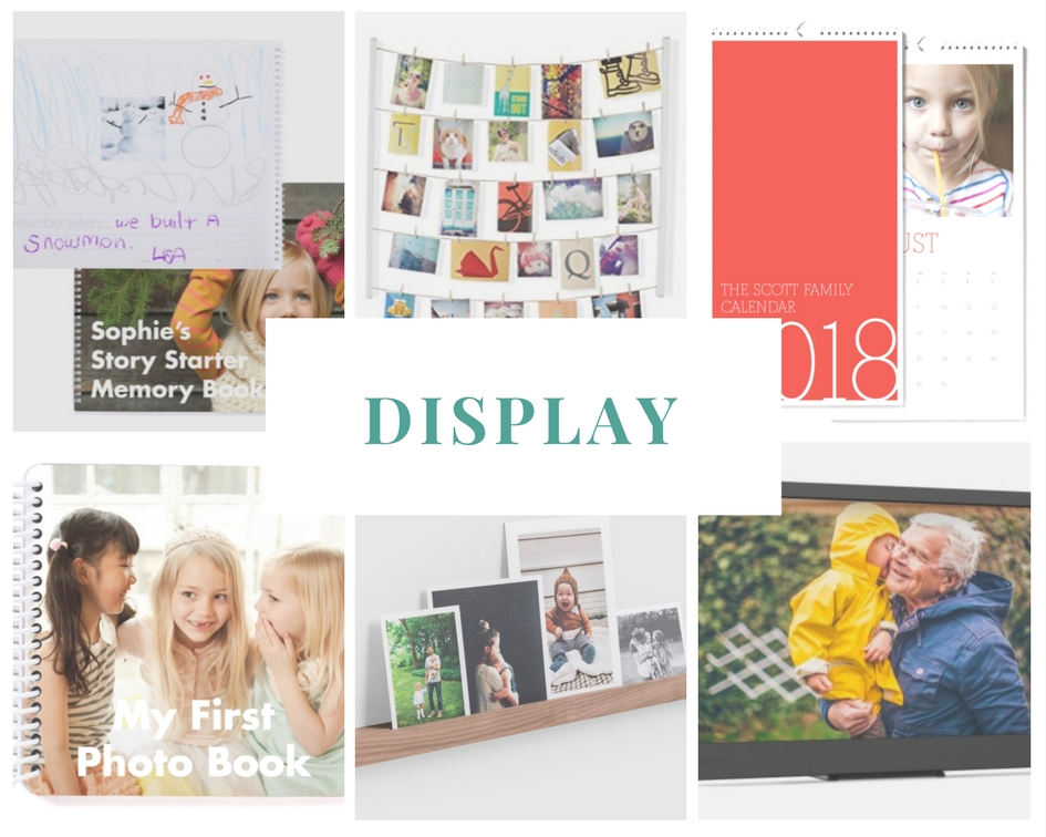 Gift Ideas for the Family Documentarian: Display