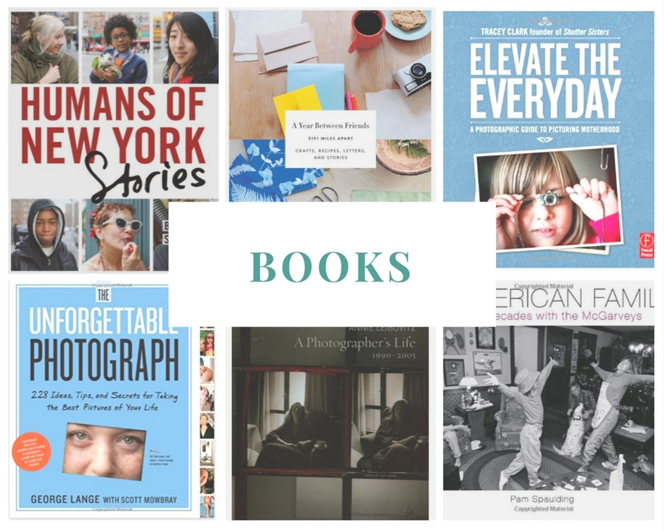 Books.jpgGift Ideas for the Family Documentarian: Books