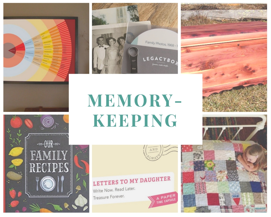 Gift Ideas for the Family Documentarian: Memory-Keeping