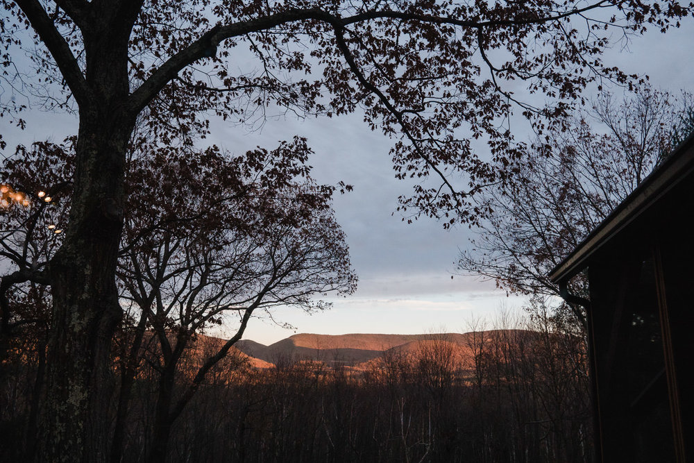 A view of the hills from Copake.