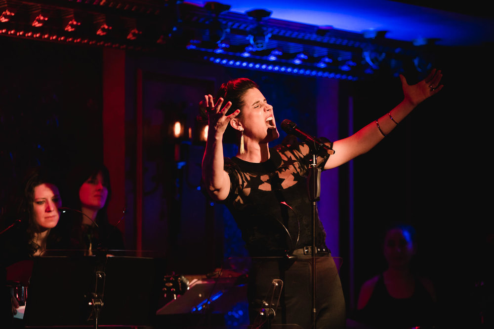 Stephanie J. Block sings at 54 Below.