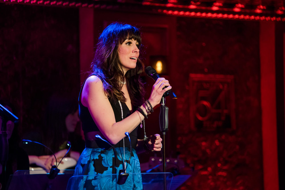 Lyn Philistine performs at 54 Below.