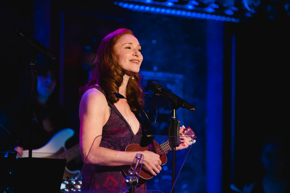 Nili Bassman performs at 54 Below.