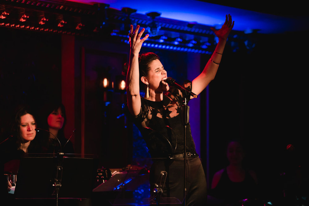 Stephanie J. Block performs at 54 Below.