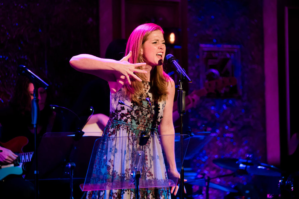 Lindsay Northen performs at 54 Below.