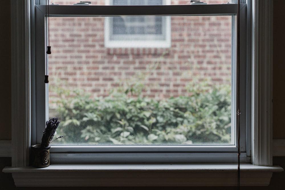 A window ledge.