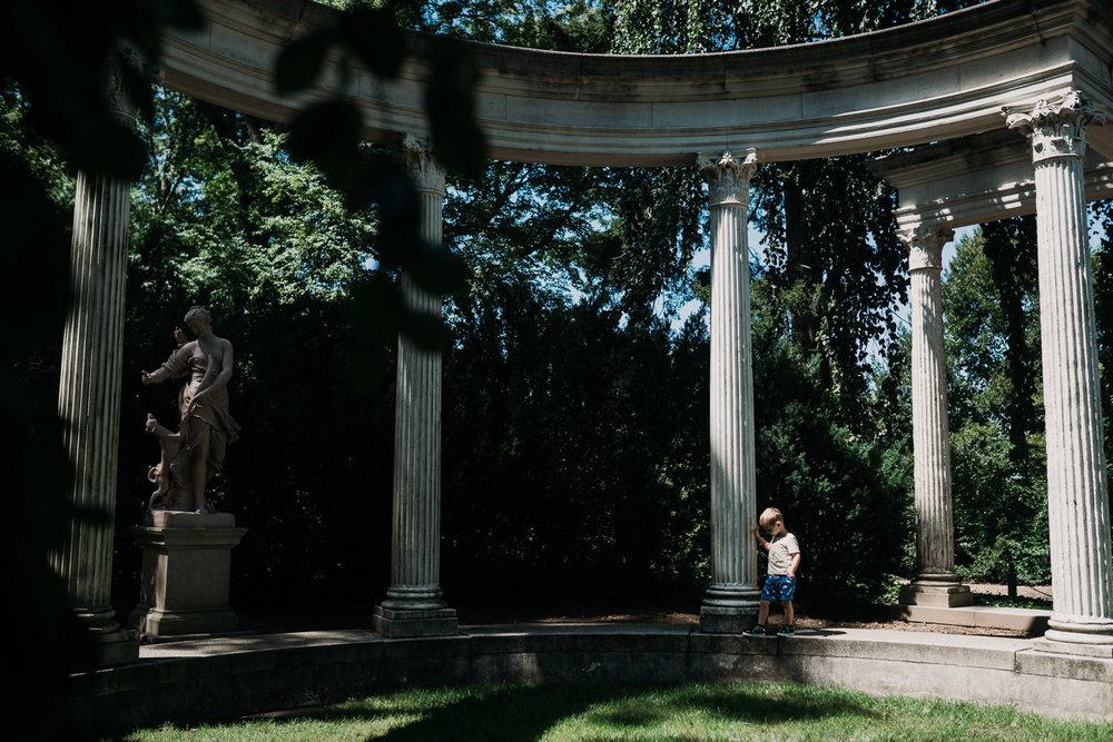 Hide and seek at Old Westbury Gardens