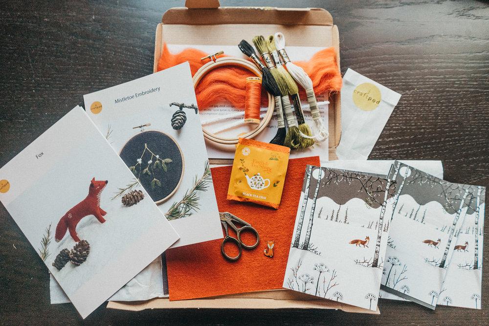 Winter box - Craftpod.