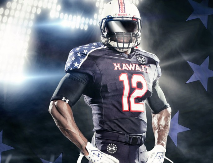 ... College & Hawaii Wounded Warrior Project Uniforms by Under Armour