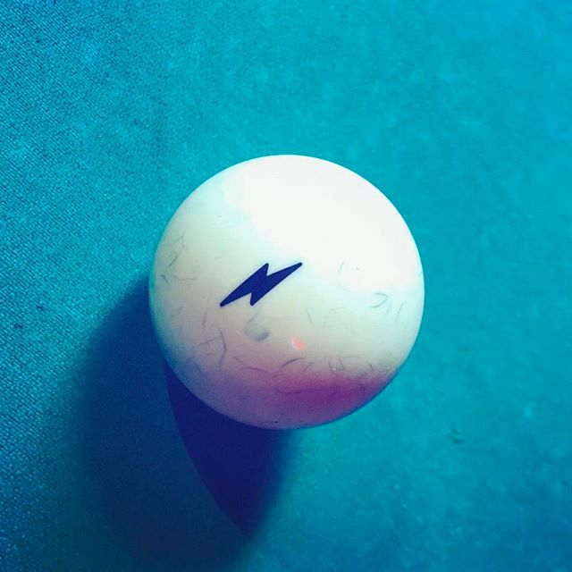 ⚡️ ::::: #lightning #bolt #icon #shadow #design #texture #stilllife #pool #milwaukee #fishfry #⚡️ #🎱