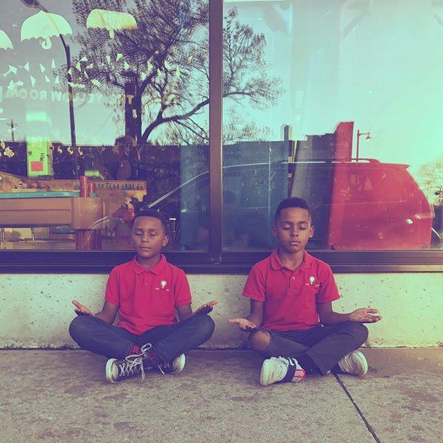 Sidewalk Meditation