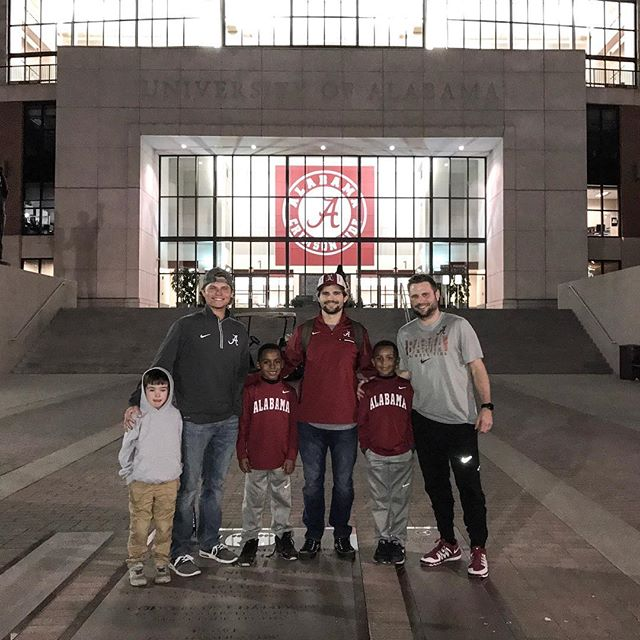 Roll Tide from the 2016 Iron Bowl