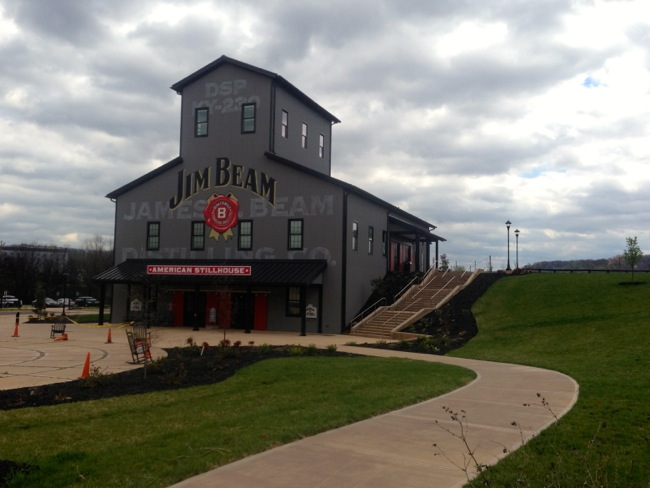 The new American Stillhouse at Jim Beam's distillery