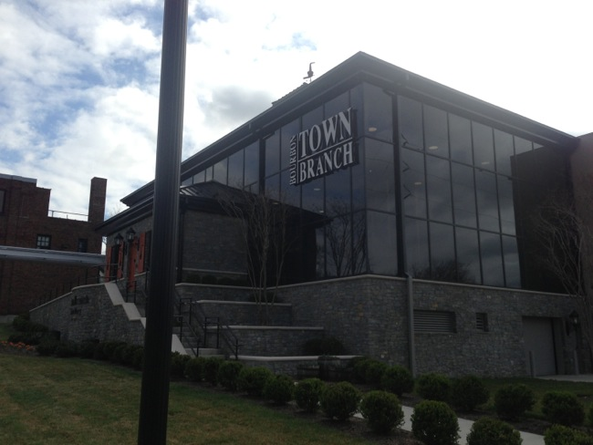 The new Town Branch distillery was completed less than a year ago.