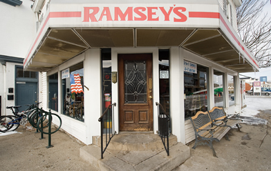 Ramsey's Diner on high Street in Downtown Lexington, KY