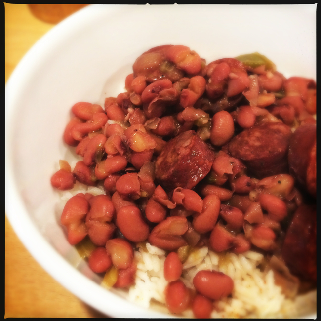 A southern staple, Red Beans and Rice is one of those rarely equaled comfort foods.