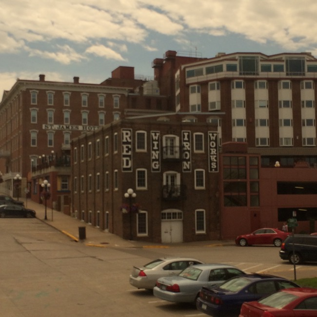 Downtown Red Wing, South of the Amtrak Station