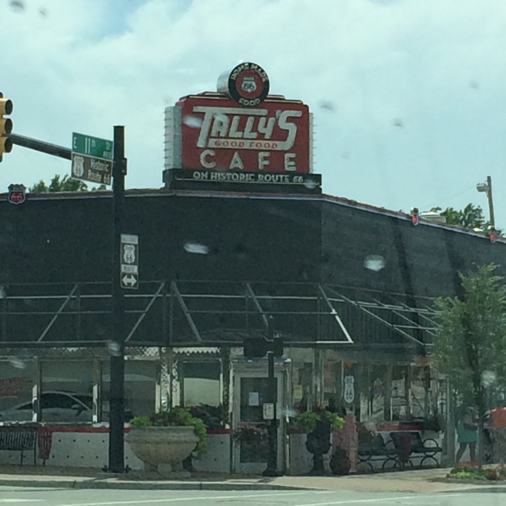 Tally's in Tulsa's University District looks much the way it probably did in it's heyday