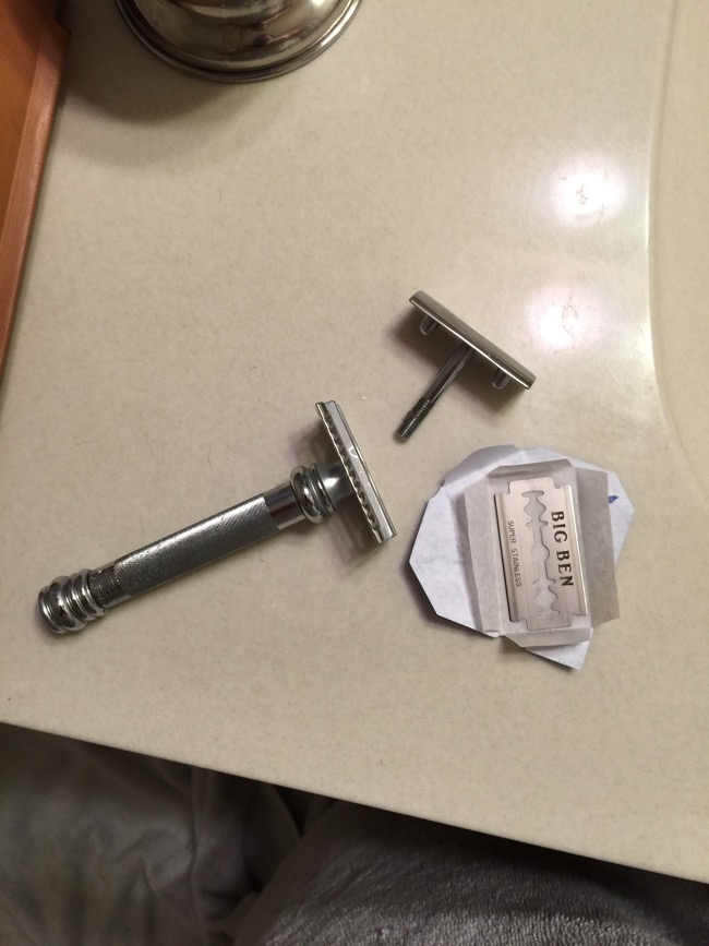 What is it about these simple pieces of metal that scare guys away from shaving the way their grandfathers did?