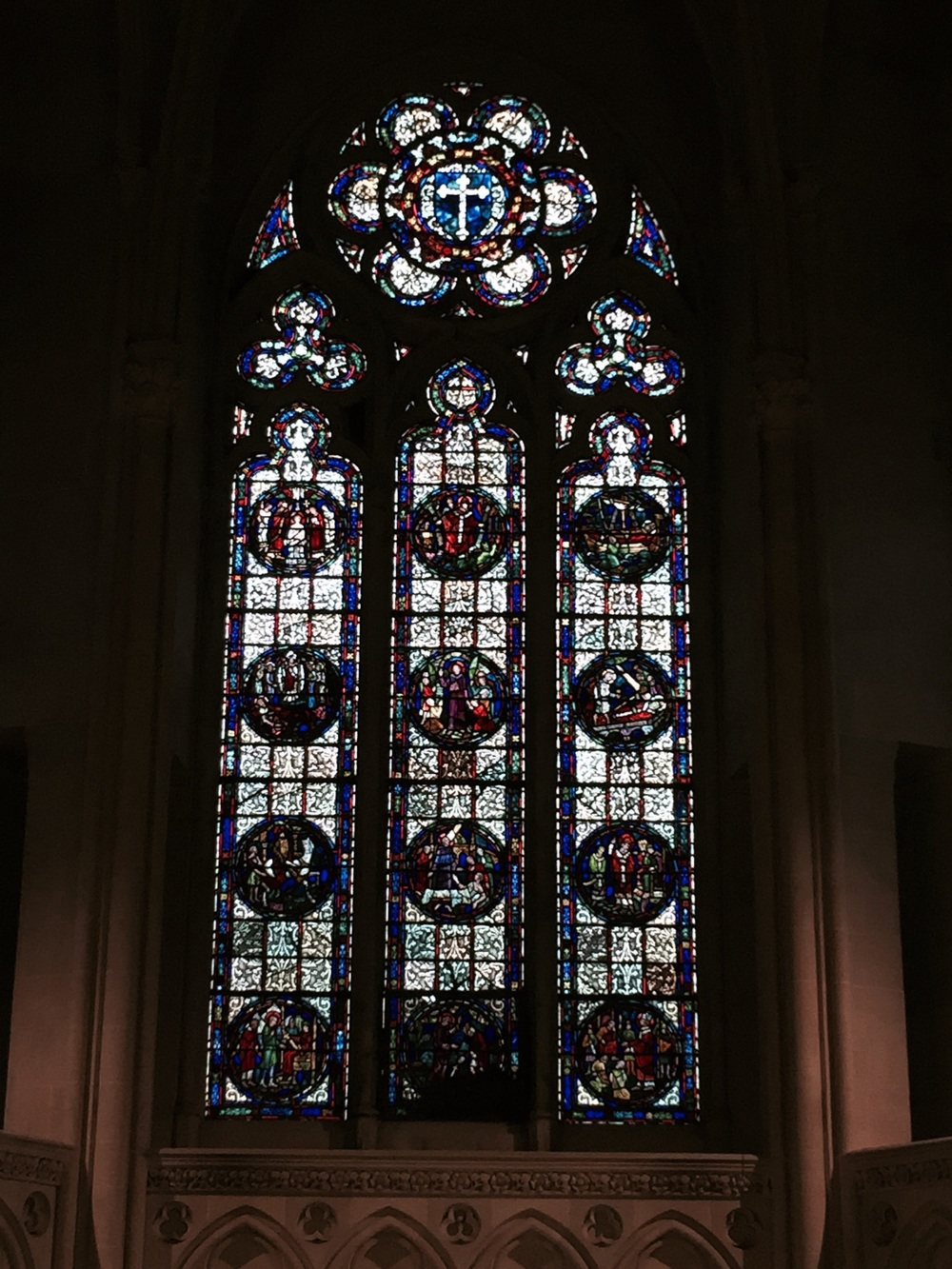 Stained Glass – Cathedral of St. John Divin