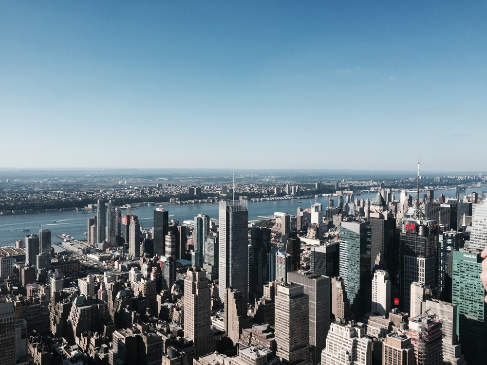 The view from the Observation Deck – Empire State Building