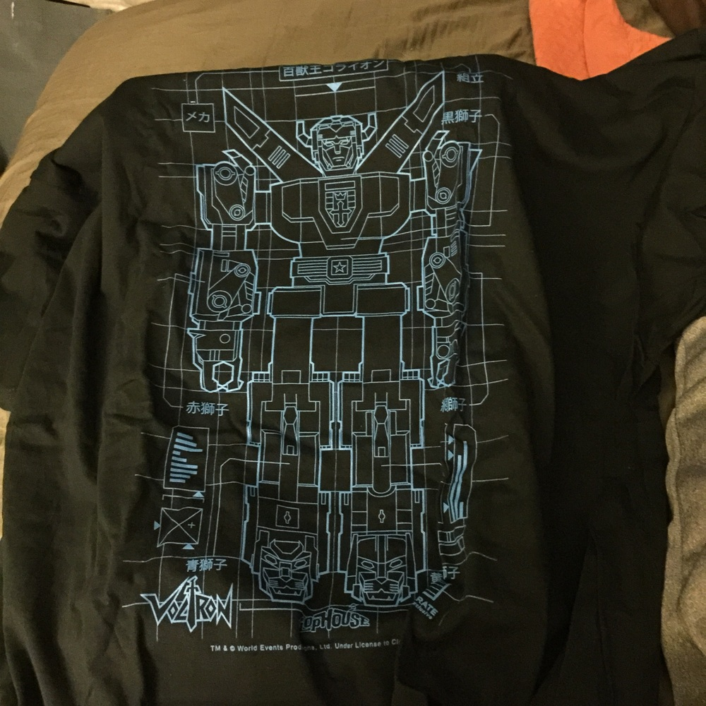Voltron T-Shirt from FlopHouse