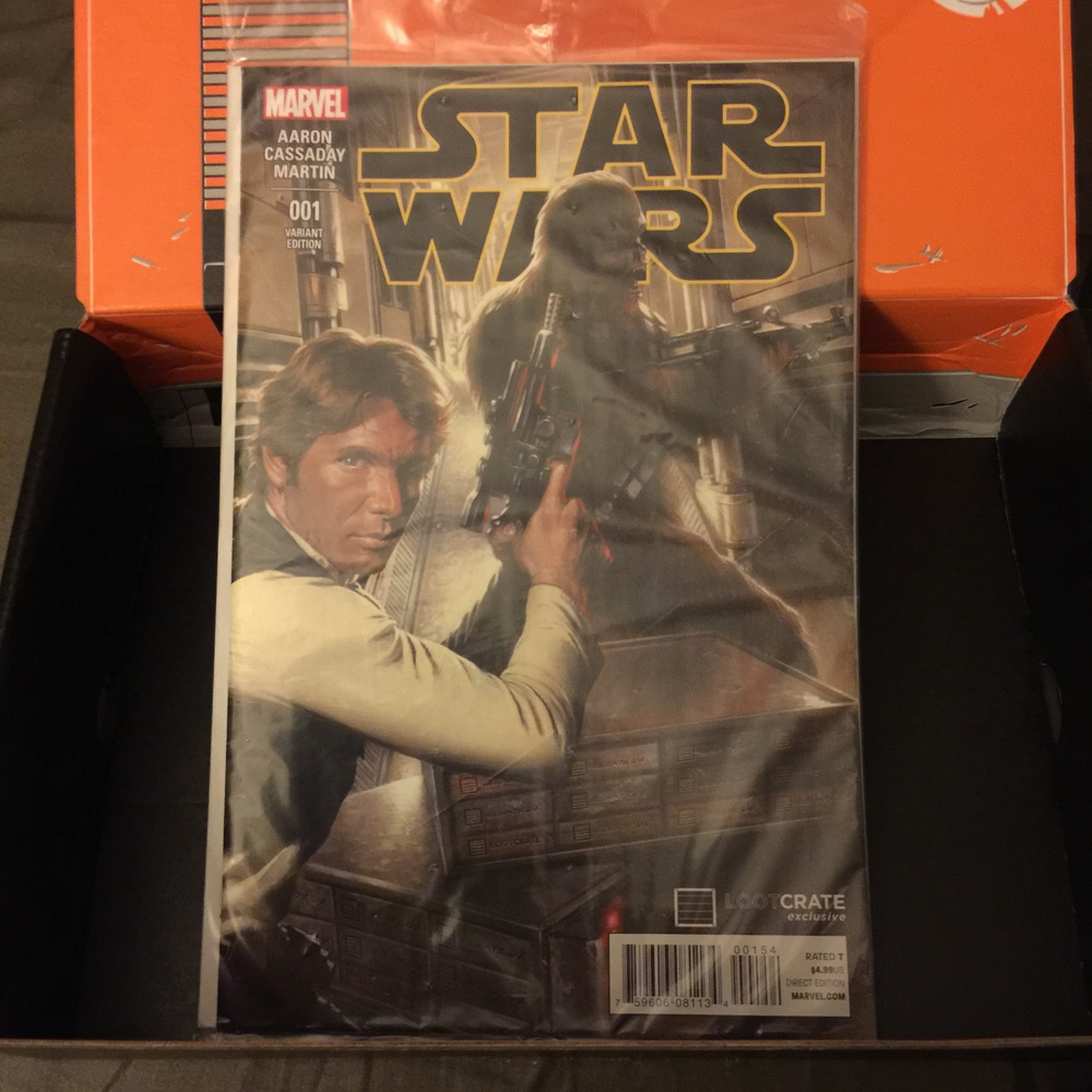 Star Wars #1 - Exclusive LootCrate variant cover