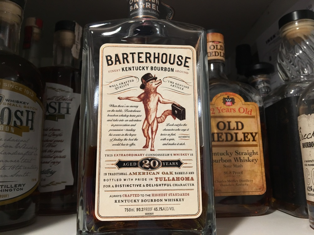 "Barterhouse is an extremely limited edition, bottled by hand from ""Orphaned Barrels"""