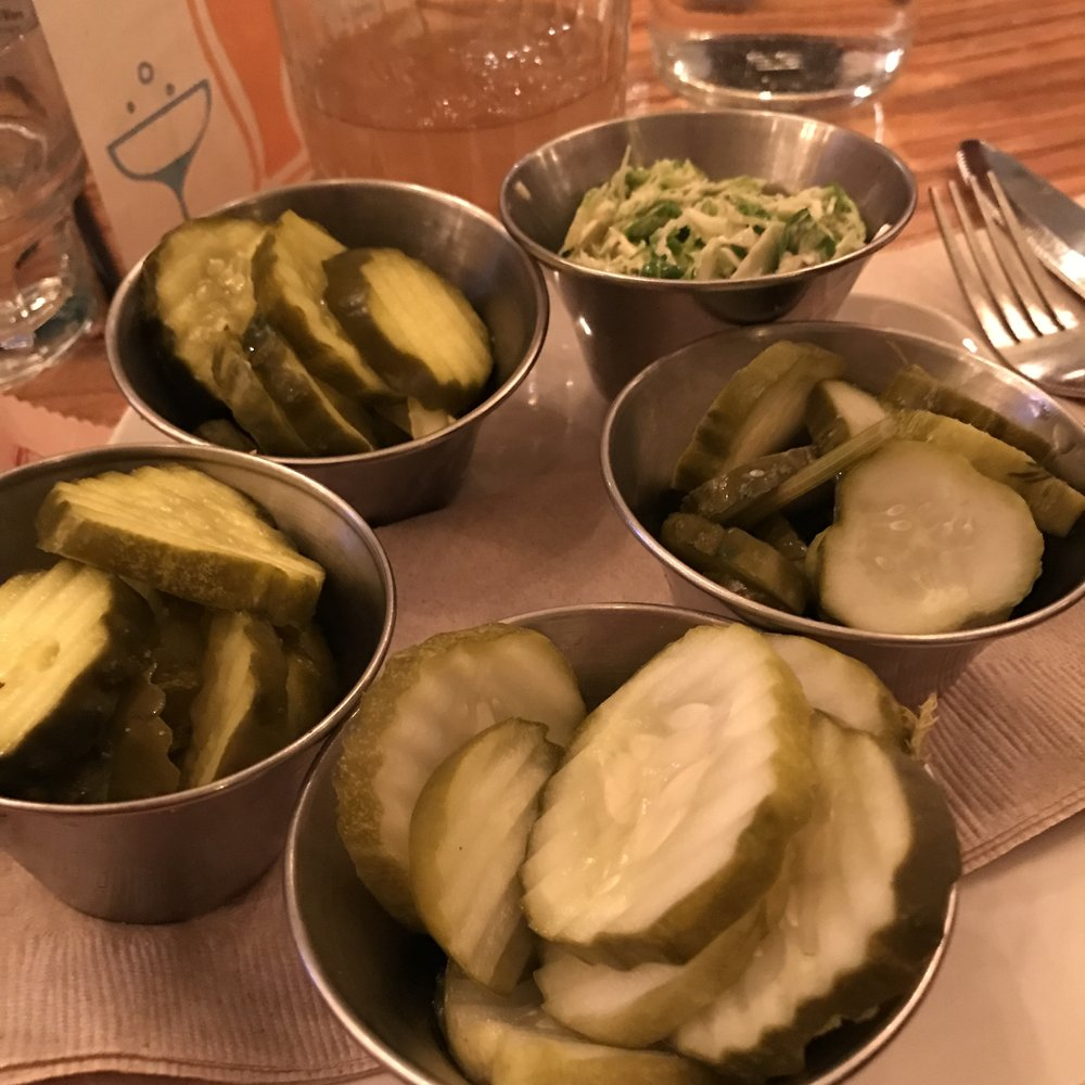 The Pickle & Slaw sampler