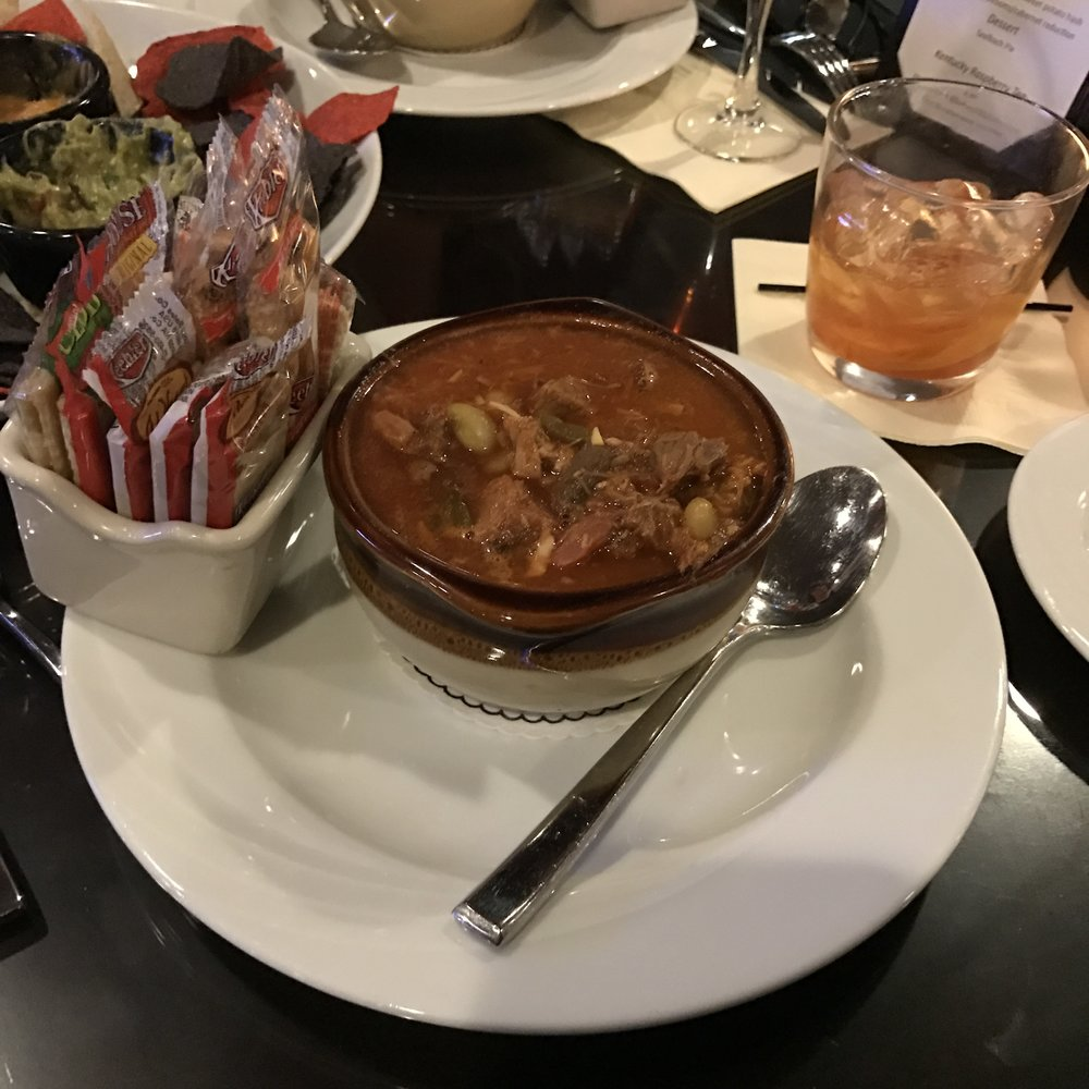 The Old Seelbach Bar features an amazing burgoo