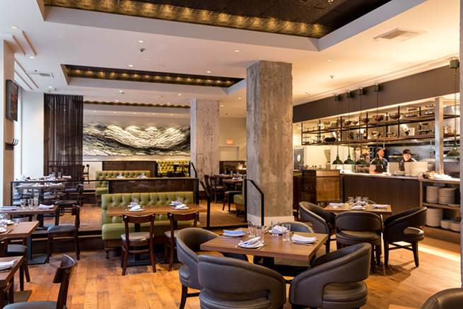 Headwaters once again transformed the historic Heathman Hotel's dining room in the last year