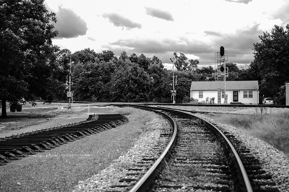 railroad tracks in chesapeake, virginia