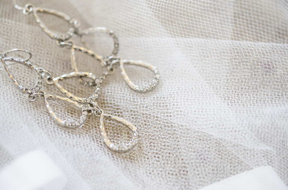 Wedding earrings Baltimore, Maryland