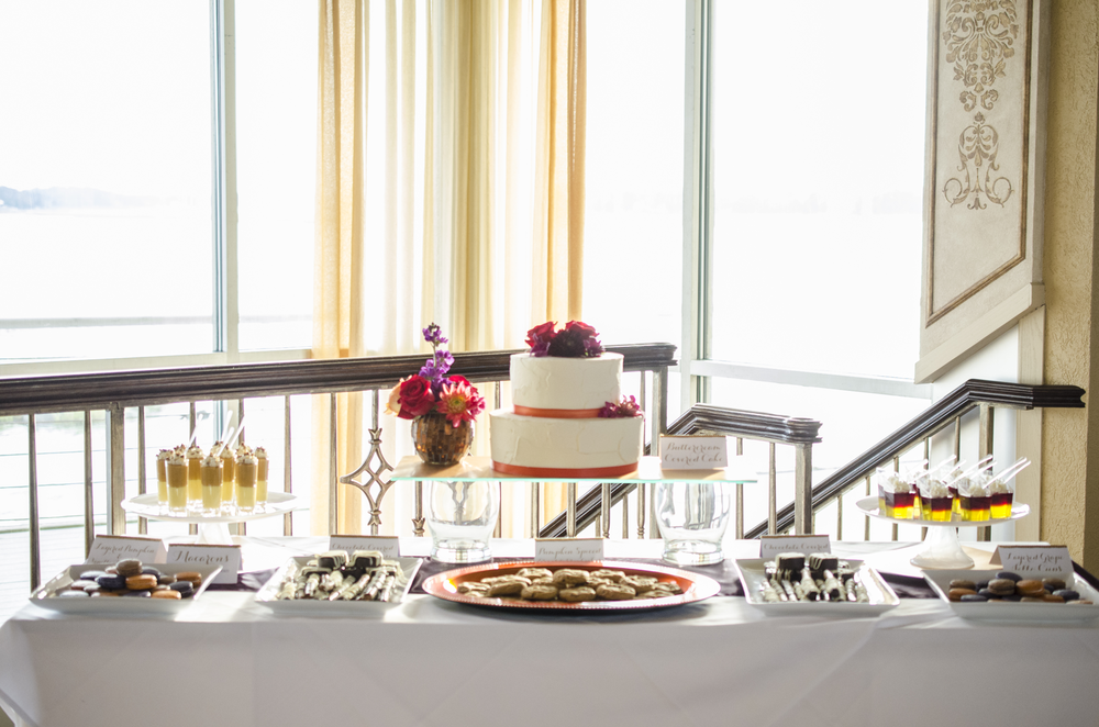 Sweet Temptations Dessert Cafe at Lesner Inn Virginia Beach wedding photographer